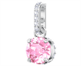 Swarovski REMIX COLLECTION CHARM October Birthstone, Pink -5437322