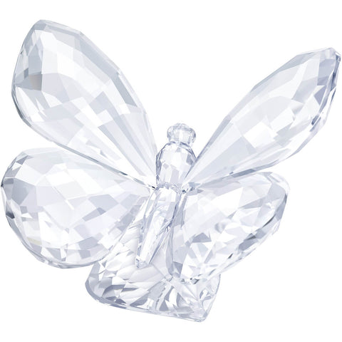 Swarovski Clear Crystal Figurine Butterfly On Leaf -5241497