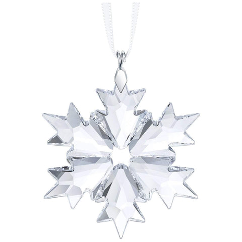 Swarovski Clear Crystal Christmas Ornament LITTLE SNOWFLAKE 2018 -5349843