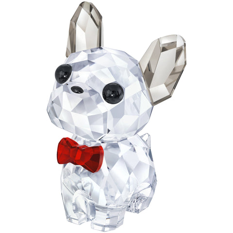 Swarovski Crystal Figurine PUPPY BRUNO THE FRENCH #5213639