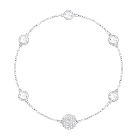 Swarovski Remix Collection TIMELESS STRAND, Clear, Rhodium -5352726