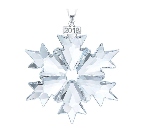 Swarovski Clear Crystal Christmas Ornament 2018 Christmas Snowflake -5301575
