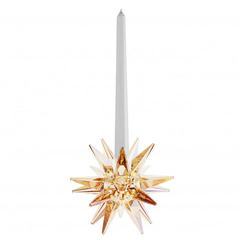 Swarovski Golden Shadow Crystal Star Candleholder - 5064296