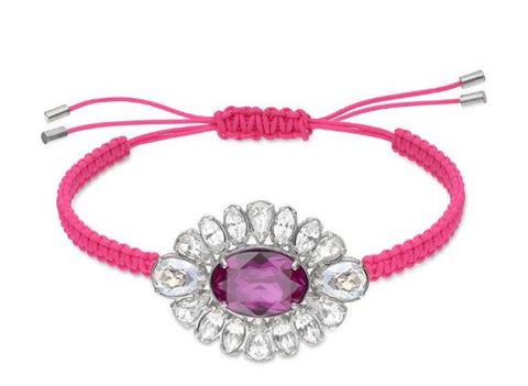 Swarovski By Shourouk Crystal Jewelry Bracelet Pink #5019150