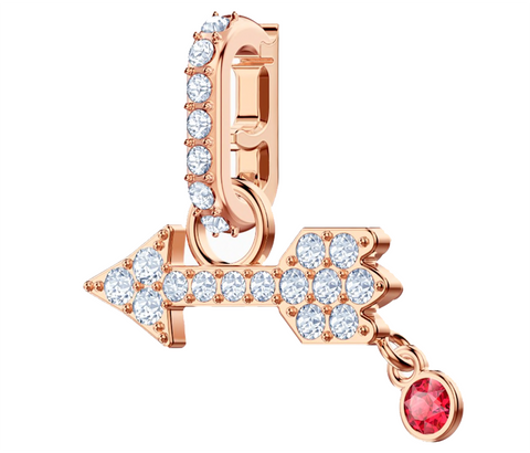 Swarovski REMIX COLLECTION ARROW CHARM, Rose Gold-5441402