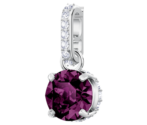 Swarovski REMIX COLLECTION CHARM February Birthstone, Purple -5437323
