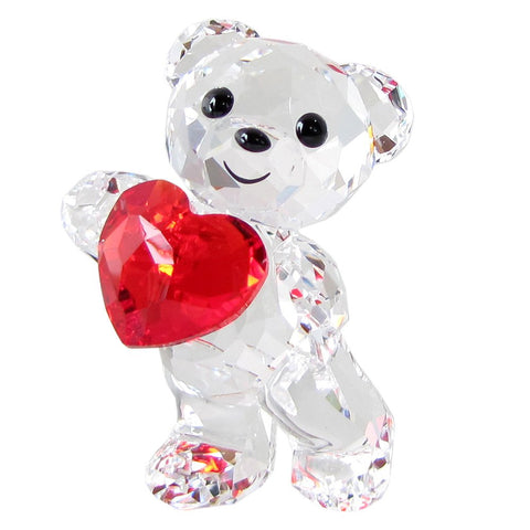 Swarovski Crystal Figurine Kris Bear A HEART FOR YOU -5265310