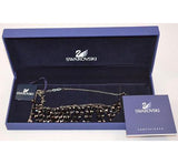 Swarovski Mustang Dark Black Jet Necklace  #1074110