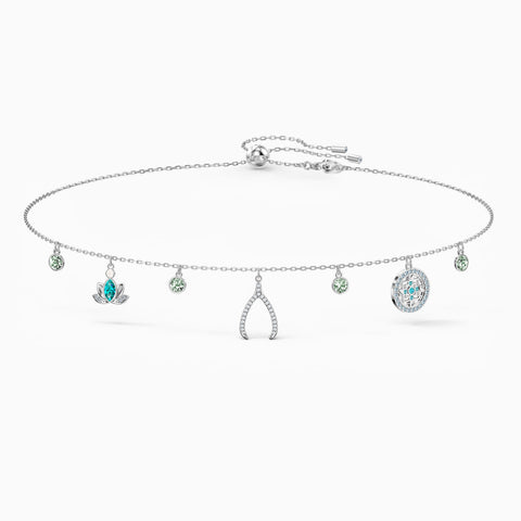 Swarovski SYMBOLIC CHARM NECKLACE, Rhodium Plated -5521449