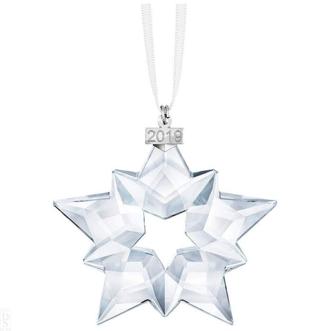 Swarovski Clear Crystal Christmas STAR Ornament 2019 -5427990