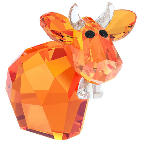 Swarovski Crystal Figurine MINI MO DEEP ORANGE Limited Edition 2015 #5125932