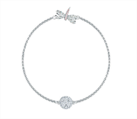 Swarovski REMIX COLLECTION DRAGONFLY STRAND, Small, Rhodium -5535334