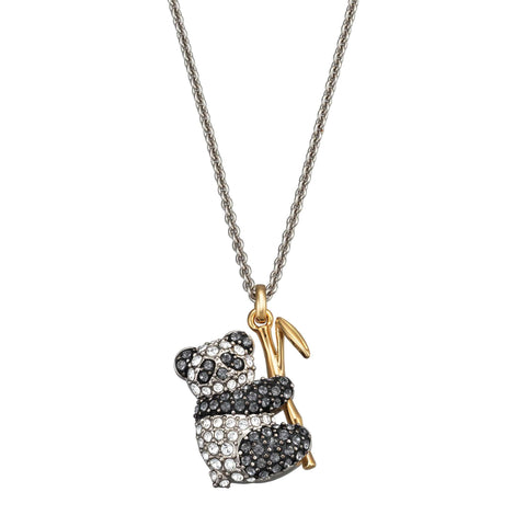 Swarovski Travel Exclusive PANDA Pendant Necklace, Mix - 5371148