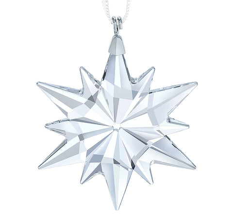 Swarovski Clear Crystal Christmas Ornament LITTLE STAR 2017 #5257592