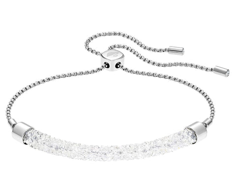 Swarovski Bracelet LONG BEACH, White, Medium -5404441