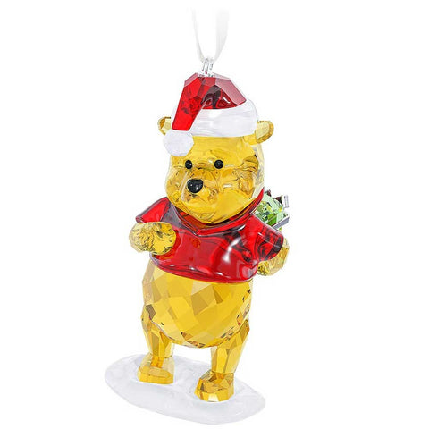 Swarovski Color Crystal Christmas Ornament Disney WINNIE THE POOH #5030561