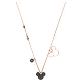 Swarovski MICKEY & MINNIE PENDANT, Rose Gold Tone -5429081