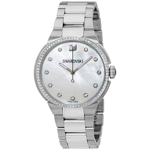 Swarovski WATCH CITY CRY, Stainless Steel, Mother of Pearl -5181635