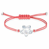 Swarovski POWER COLLECTION FLOWER BRACELET, Red, Stainless Steel - 5523170