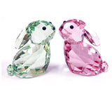 Swarovski Crystal Figurines Set of 2 IN LOVE- GEORGE & GEORGINA #5279056