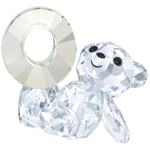Swarovski Crystal Figurine KRIS BEAR NUMBER ZERO Number 0 Birthday #5063334