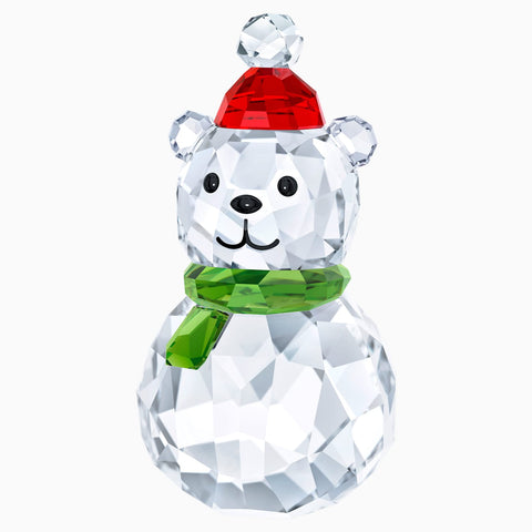 Swarovski Christmas Crystal Figurine ROCKING POLAR BEAR -5393459