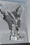 Swarovski 1995 Limited Edition Crystal Figurine EAGLE With Stand
