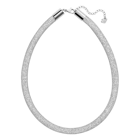Swarovski Clear Crystal STARDUST DELUXE Necklace, Silver -5180944