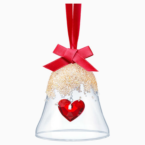 Swarovski Christmas Ornament CHRISTMAS BELL, Heart, Red -5464881