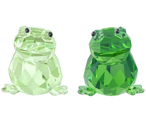 Swarovski Frog Figurines Set of 2 IN LOVE- ANGELO & ANGELINA - 5136524