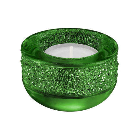 Swarovski Candle Holder SHIMMER TEA LIGHT HOLDER, Green #5108880