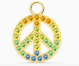 Swarovski REMIX COLLECTION PEACE CHARM, Gold-5526998