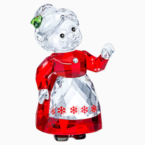 Swarovski Christmas Figurine Color Crystal MRS. CLAUS -5464887