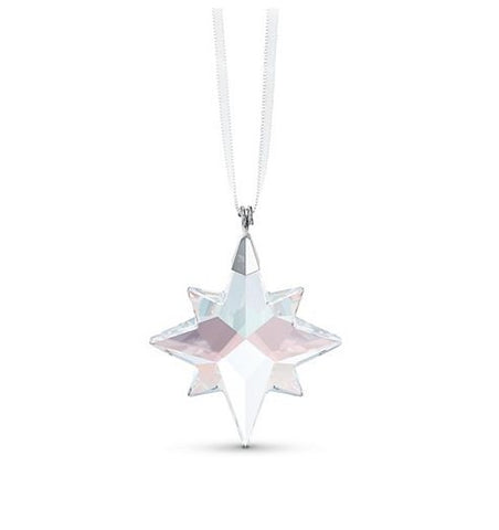 Swarovski Crystal Christmas Ornament STAR ORNAMENT 2020, AB, Small -5545611
