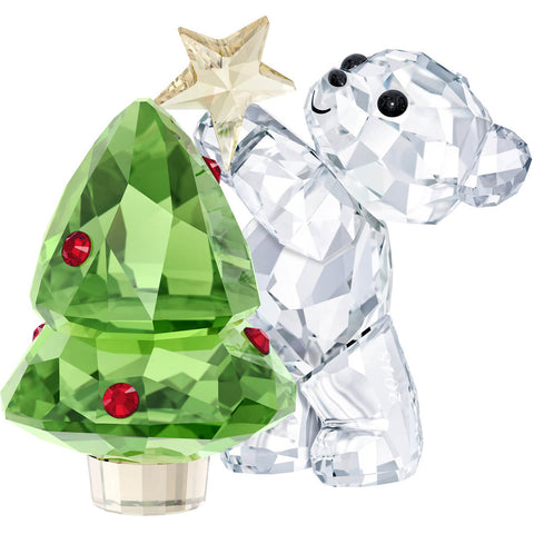 Swarovski Crystal Christmas Figurine KRIS BEAR CHRISTMAS 2018 -5399267
