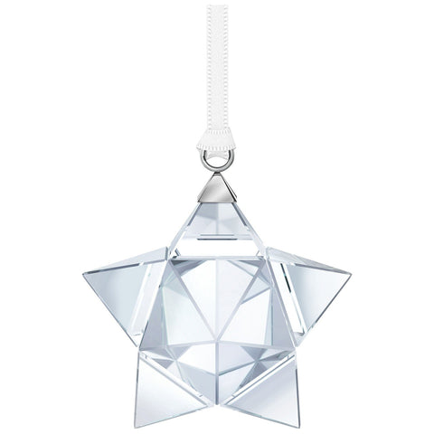 Swarovski Crystal Christmas STAR ORNAMENT, Small, Clear -5223598