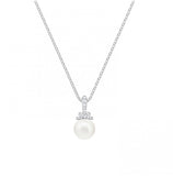 Swarovski Jewelry ORIGINALLY PENDANT, White, Rhodium Plated-5452584
