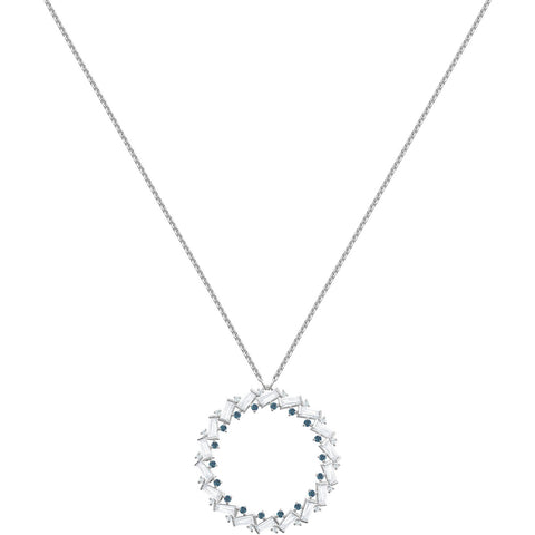 Swarovski Crystal Pendant Necklace NAELI Large, Rhodium -5467454
