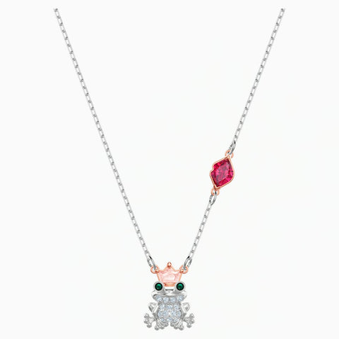 Swarovski OUT OF THIS WORLD KISS NECKLACE, Mixed Finish -5456136