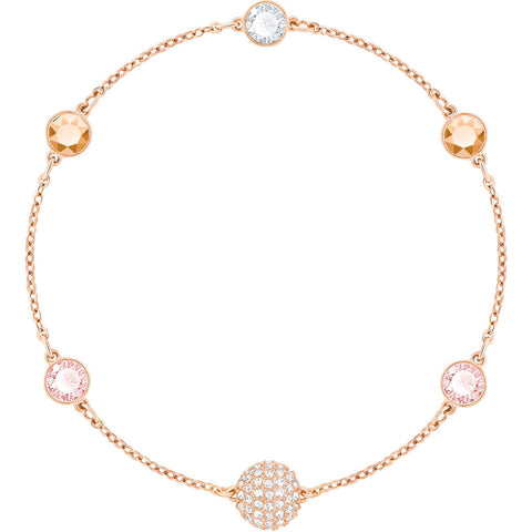 Swarovski Remix Collection TIMELESS STRAND, Rose Gold -5354795