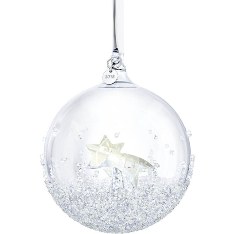 Swarovski Christmas Ornament CHRISTMAS BALL 2018 Shooting Star -5377678