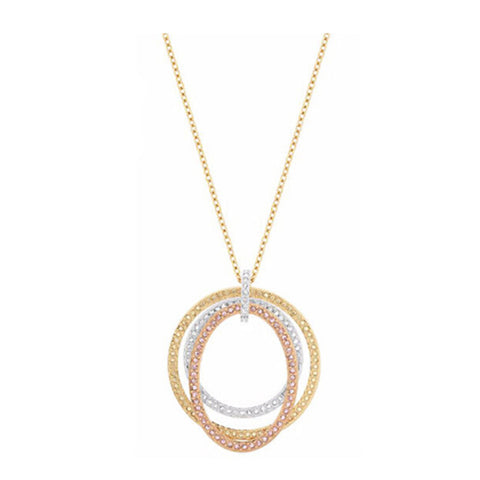 Swarovski Crystal Jewelry HOOLA HOOP PENDANT Necklace #5073009