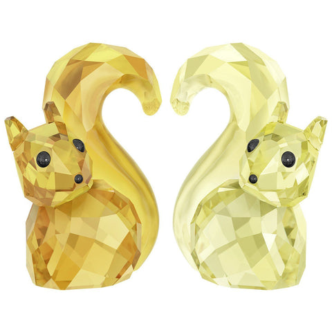 Swarovski Crystal Figurines Set of 2 IN LOVE- BERT & BERTA #5282357