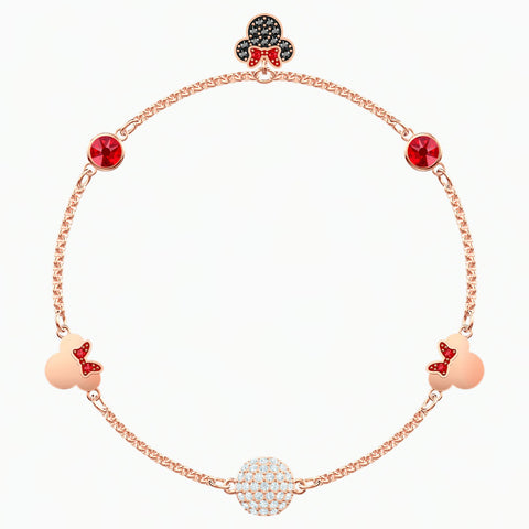 Swarovski REMIX COLLECTION MINNIE STRAND, Rose Gold Tone, M -5462365