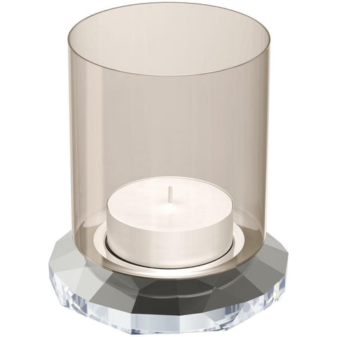 Swarovski ALLURE Tea Light Holder, Silver - 5235862