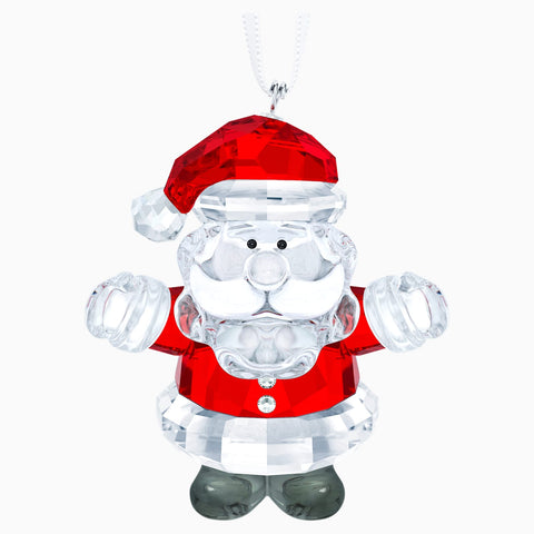 Swarovski Crystal SANTA CLAUS Christmas Ornament -5286070