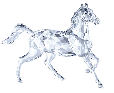 Swarovski Clear Crystal Horse Figurine STALLION -5135909