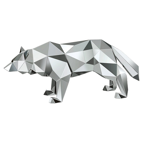 Swarovski Crystal Figurine WOLF BY ARRAN GREGORY, Silver -5272772