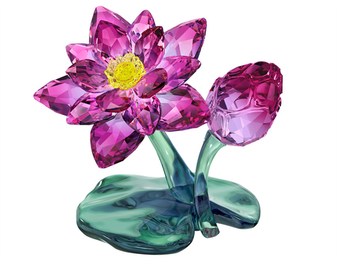 Swarovski Crystal Flower Figurine LOTUS - 5275716