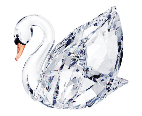 Swarovski Clear Crystal Figurine SWAN, Large - 5004723